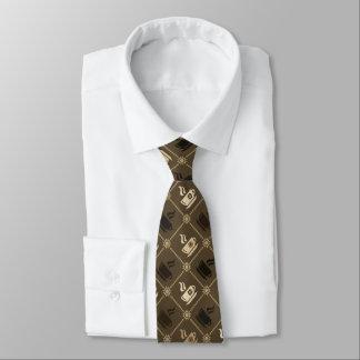 Coffee Mocha Pattern Tie