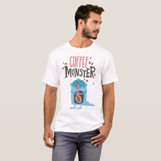 Coffee Monster Cute T-Shirts