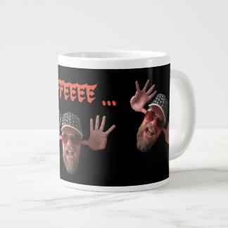 Coffee Monster Large Coffee Mug