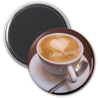 coffee morning magnet
