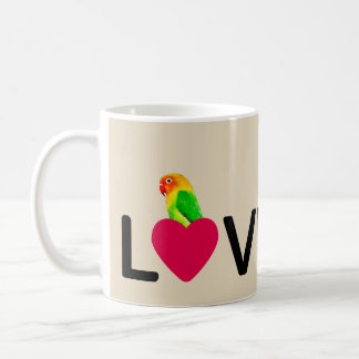 Coffee Mug Birdy Love Parrot