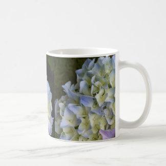 Coffee Mug Blue Hydrangea