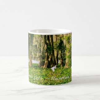 Coffee Mug - Caddo Lake Cypress & Bird-001