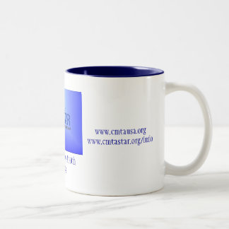 Coffee Mug, Charcot-Marie-Tooth Disease Two-Tone Coffee Mug