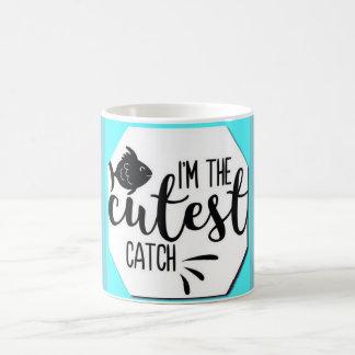 Coffee Mug Cutest Catch Funny