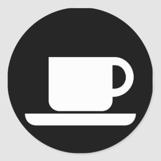 Coffee Mug for coffee lovers! Classic Round Sticker