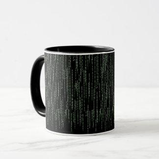 Coffee mug for programmers (matrix)