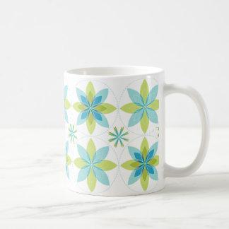 Coffee mug geo-bloom-seafoam