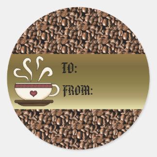 Coffee Mug Gift Tag
