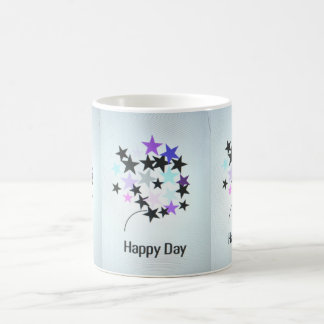Coffee Mug Happy Day Stars