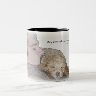 Coffee mug honoring mans best friend