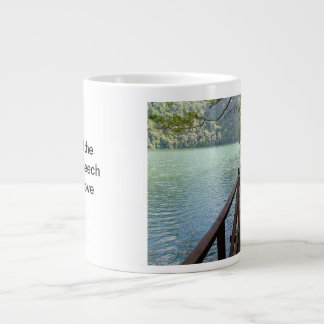 Coffee Mug: I crossed the Bridge of Beech Large Coffee Mug