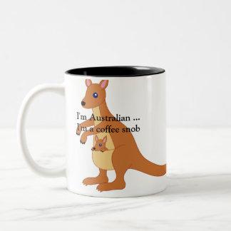 Coffee Mug - I'm australian ..I'm a coffee snob