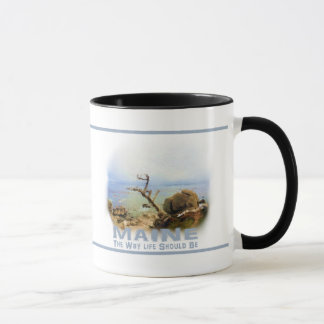 Coffee Mug Maine Seacoast Beach