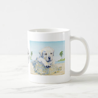 Coffee Mug, My Beach Puppy Coffee Mug