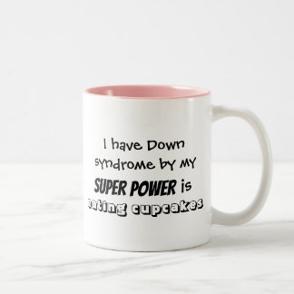 "Coffee Mug ""my super power is eating cupcakes"""