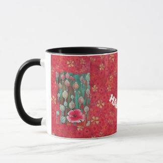 "coffee mug ""Poppy"""