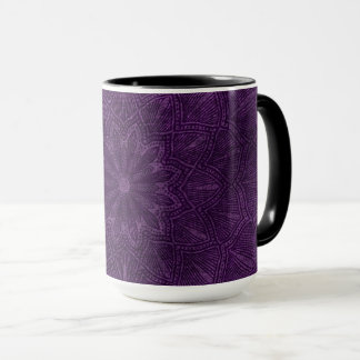 Coffee Mug Purple Mandala