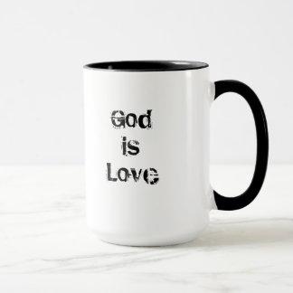 Coffee Mug Saint Rose of Lima God Is Love
