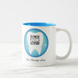 Coffee Mug Template Dental Tooth