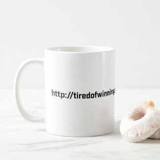 Coffee Mug - Tired of Winning RU