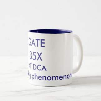 Coffee Mug to celebrate DCA's GATE 35X