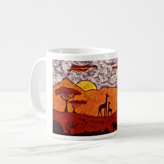 Coffee Mug with African Landscape