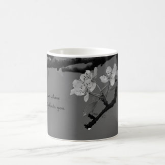 coffee mug with bloom where God plants you.