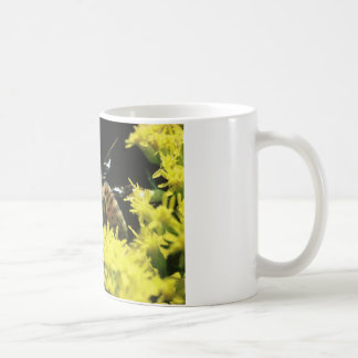 Coffee mug with honey bee & scripture.