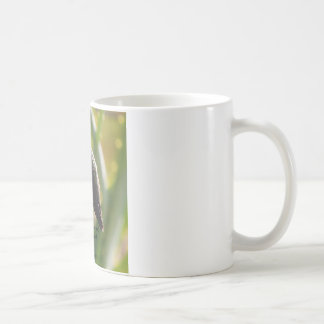 Coffee mug with hummingbird