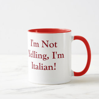 Coffee Mug with Italian Saying
