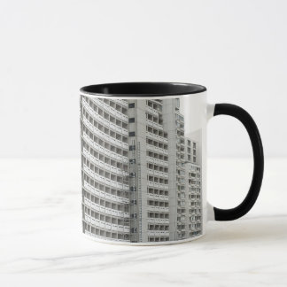 Coffee Mug with Modern Architecture