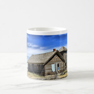 Coffee mug with photo of abandoned church