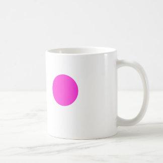 Coffee Mug With Pink Spot