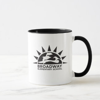 Coffee Mug with School Logo