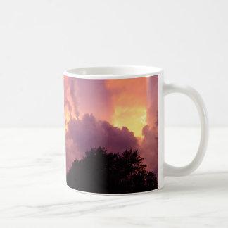 Coffee Mug with Setting Sun