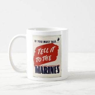 Coffee Mug WWII Wartime - Marine Corps