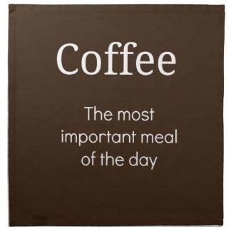Coffee Napkin