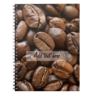 coffee notes notebook