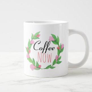 Coffee now - Jumbo Mug