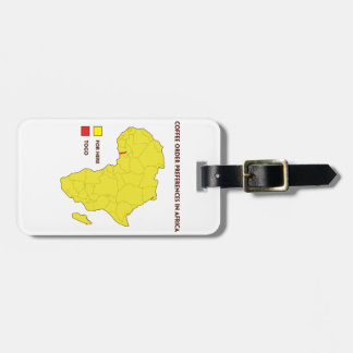 Coffee order preference in Africa Luggage Tag