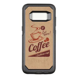 Coffee OtterBox Commuter Samsung Galaxy S8 Case