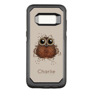 Coffee Owl custom name phone cases