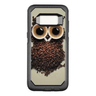 Coffee Owl OtterBox Commuter Samsung Galaxy S8 Case