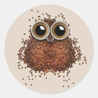 Coffee Owl stickers