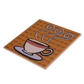 Coffee - Pastel Mug Design Tile/Trivet Tile