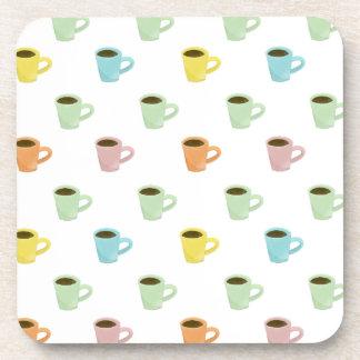 Coffee Pattern Coaster