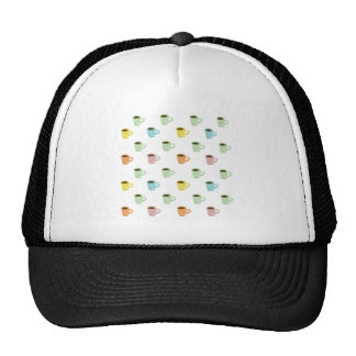 Coffee Pattern Trucker Hat