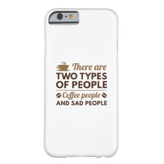 Coffee People Barely There iPhone 6 Case