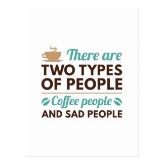 Coffee People Postcard